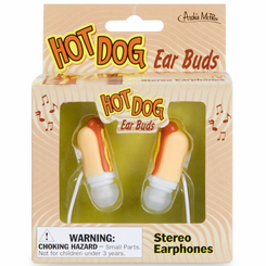 Hot Dog Ear Bud Headphones