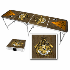 Hunting Heraldry Beer Pong Table