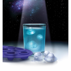 ice attacks UFO ice cube tray molds