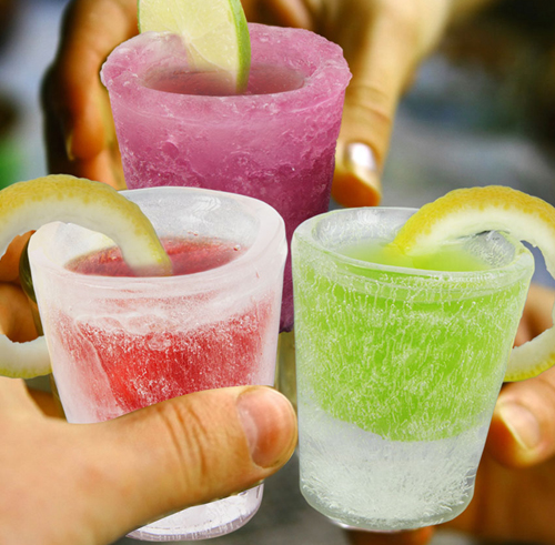Ice Shot Glasses (4 Pack) - Click to enlarge