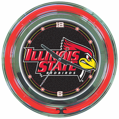 Illinois State University Neon Clock