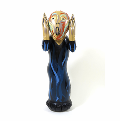 Inflatable Scream Doll