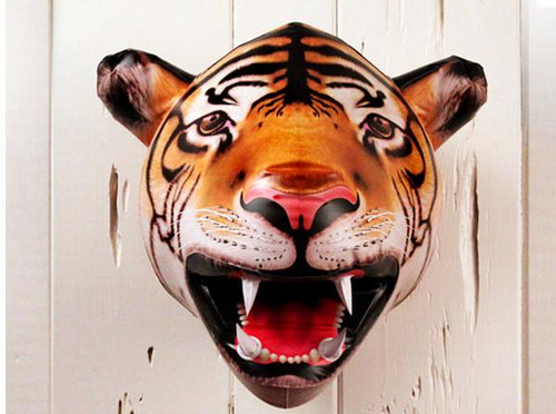 inflatable tiger head - Click to enlarge