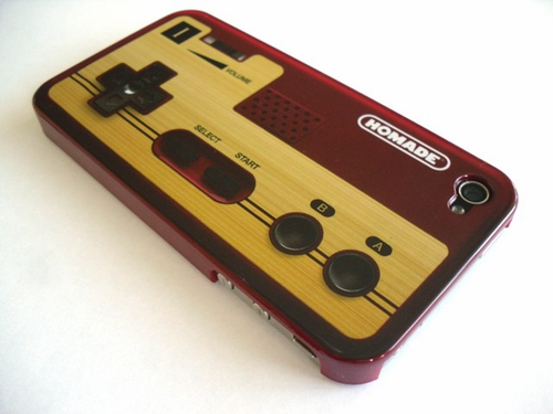 iPhone 4 Game Control Cover - Click to enlarge