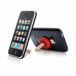 iPlunge mini plunger mobile phone stand