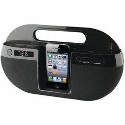 Wireless iPod Dock Hidden Camera w/ Remote View