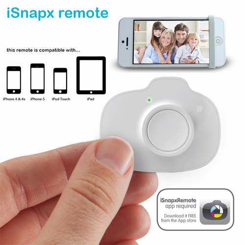 iSnapx: iPhone Wireless Shutter Remote Control - Click to enlarge