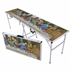 Last Supper Beer Pong Table