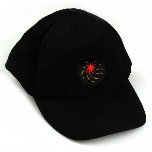LED Fireworks Rave Hat - Click to enlarge