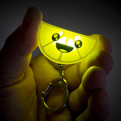 Lemon Squeezy Light Key Chain