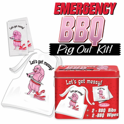 Let's Get Messy Emergency BBQ Pig Out Kit