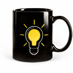 Light Bulb Mug (Heat Sensitive)