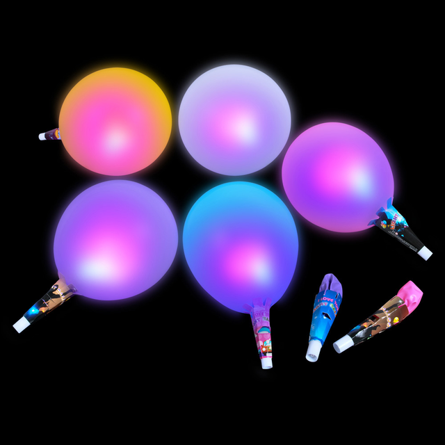 Light up balloons illuminate your party