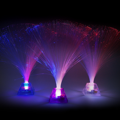 Light Up Fiber Optic Centerpiece