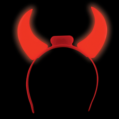 Light Up Flashing Devil Horn