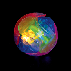 Light Up Flashing Rainbow Ball