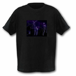 Lightning Storm Light Up LED Shirt
