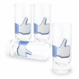 Like Button Shot Glasses