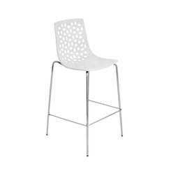 Lola Barstool White (Sold In Pairs) BS-KN-LOLA-W