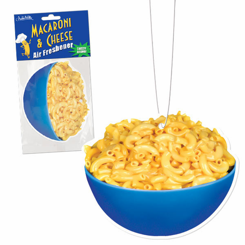Macaroni & Cheese Air Freshener - Click to enlarge