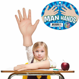 Man Hands: Giant Latex Hands