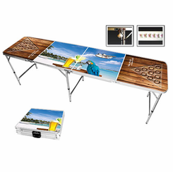 Margarita Beach Parrot Beer Pong Table
