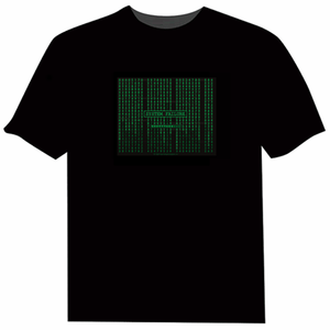 Matrix Light Up LED Shirt - Click to enlarge