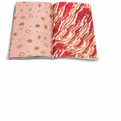 Meat Parade Wrapping Paper Book