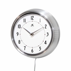 Modern Wall Clock Hidden Camera