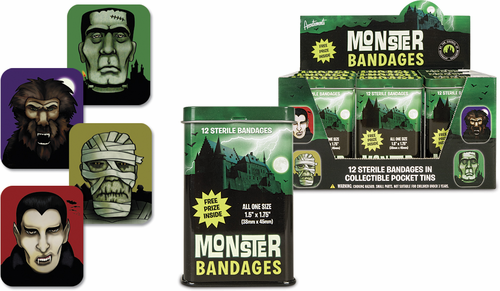 Monster Bandages - Click to enlarge