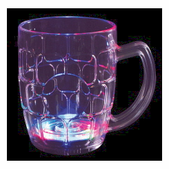 Lightware Motion Activated Light Up Beer Mug (20 oz) (Acrylic)