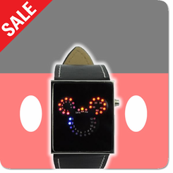 Mouse LED Binary Watch