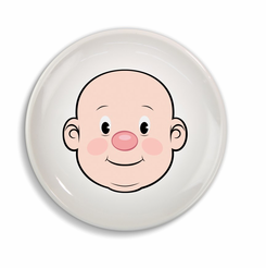 Mr. Food Face Dinner Plate