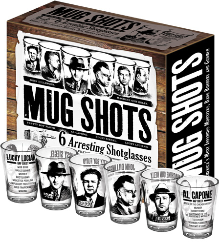 Mug Shot Glasses - Click to enlarge