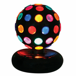 MultiColor Rotating Disco Ball LS-DISCO-6M