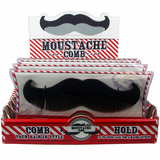 Mustache Shaped Comb