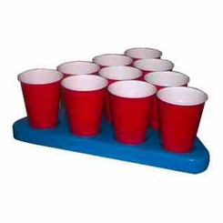 N-Ice Rack Freezable Beer Pong Rack