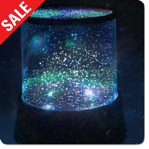 Night Stars Bedroom Lamp - Click to enlarge