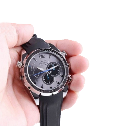 Night Eyes High Definition 8Gb Night-VisIon Watch Camera - Click to enlarge