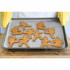 Ninja Bread Men Cookie Cutter Mold