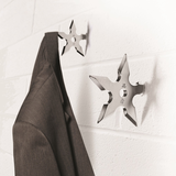 Ninja Star Coat Hook Hanger