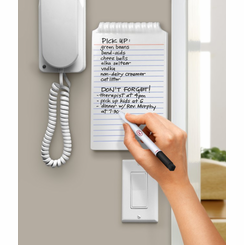 No'Pad Dry Erase Ceramic Notebook