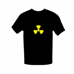 Biohazard Light Up LED Shirt