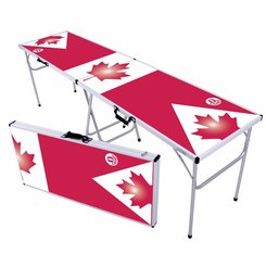 O Canada Beer Pong Table