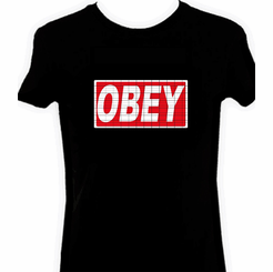 Obey Light Up LED Shirt