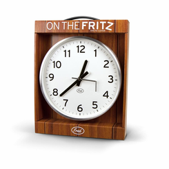 on the fritz broken office wall clock