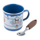 Paint Pot Mug & Spoon Set - Blue