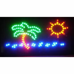 Palm Tree Led Signs