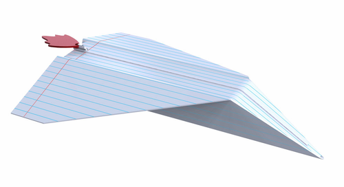Paper Plane Pencil Case - Click to enlarge