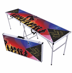 Party Girls Beer Pong Table